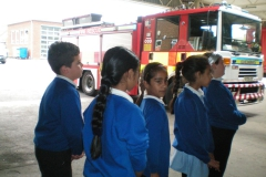 JNW Visit the Fire Station