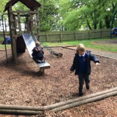 Fun in the playground