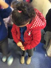 Learning to put our coats on independently