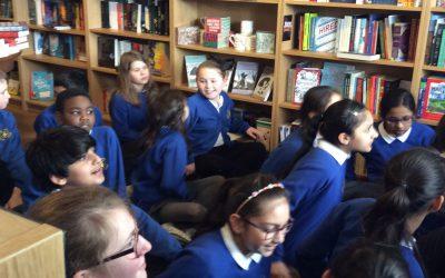 Year 6 Visit Drake's Book Shop