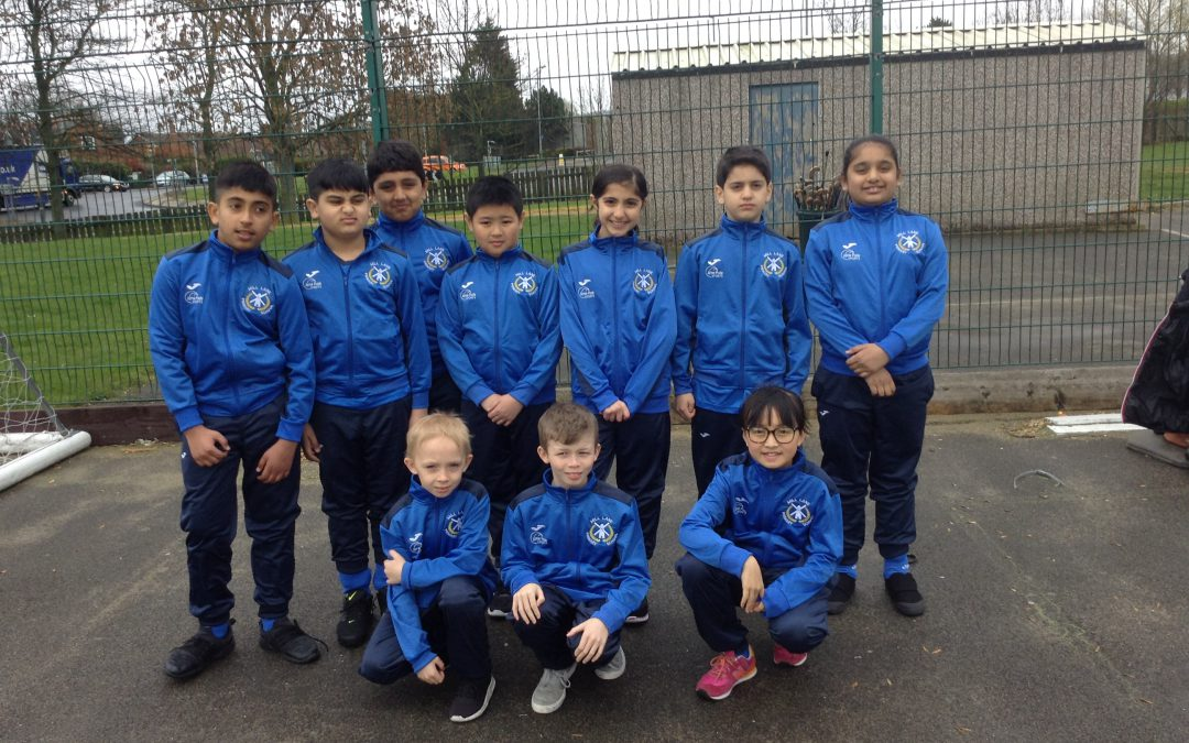 Year 5 hockey competition at Eaglescliffe School