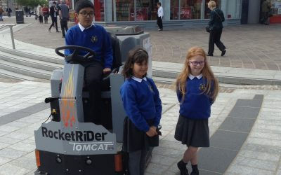 Town Centre Cleaning Machine – Logo Design Winners