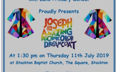 Joseph performance – Thursday 11th July – Grab your tickets now for £1