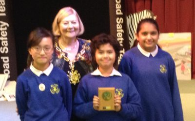 Year 6 finish 3rd in the regional 'road safety quiz'